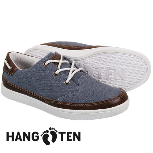 Hang Ten Men's Navy Venice Canvas Shoes