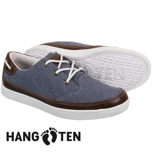 Hang Ten Men's Navy Venice Canvas Shoes