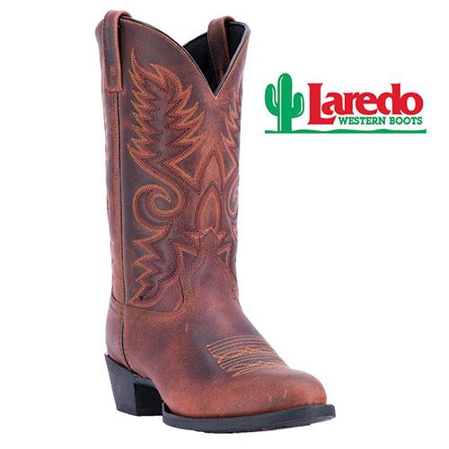 Laredo Men's Tan Benny Western Boots