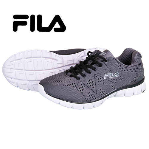 Fila Men's Grey Memory Foam Running Shoes