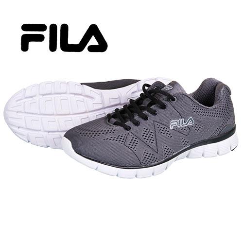 Fila Men's Grey Memory Foam Running Shoes