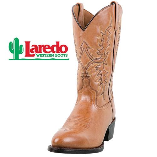 Laredo Men's Tan Harding Western Boots