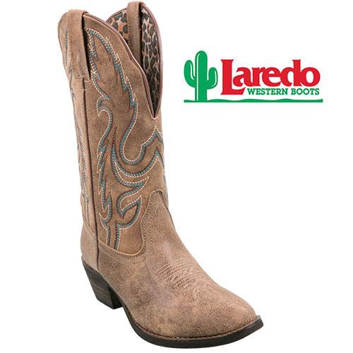 Laredo Women's Tan Western Boots