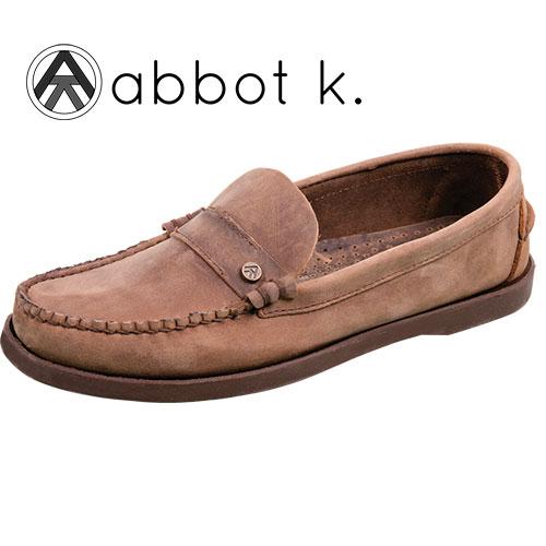 Abbot K Men's Brown Kinney Slip-On Shoes