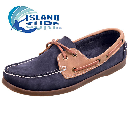 Abbot K Men's Navy Boardwalk Boat Shoes