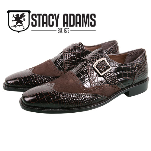 Stacy Adams Men's Brown Arrico Wingtip Shoes