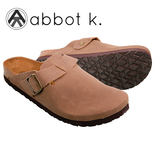 Abbot K Men's Brown Bondi Clogs