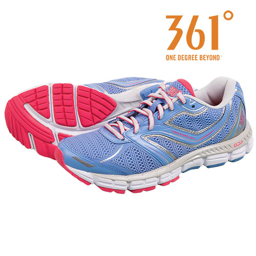 361 Degrees Women's Silver Violation Running Shoes
