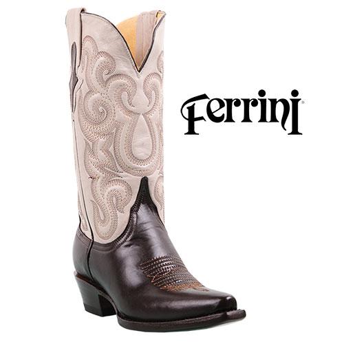Ferrini Women's Chocolate Western Boots