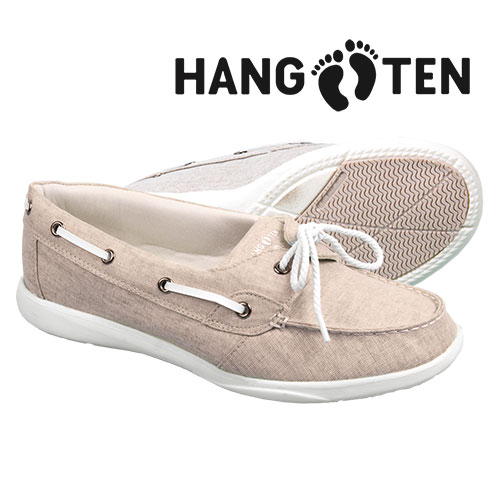 Hang Ten Women's White Rosa Canvas Shoes