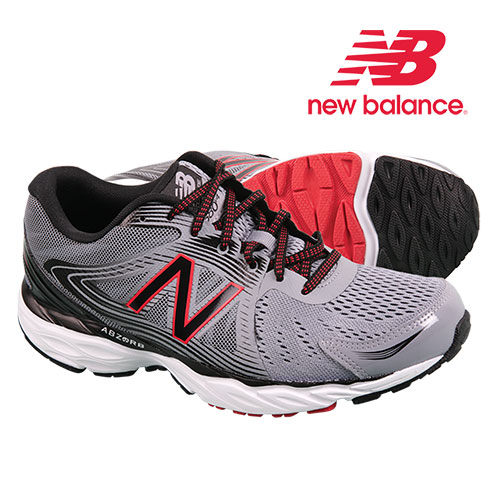 New Balance Men's Grey Running Shoes