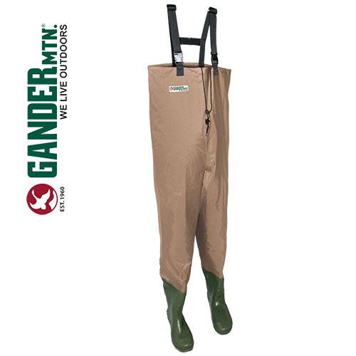 Gander Mountain Men's Tan Chest Waders