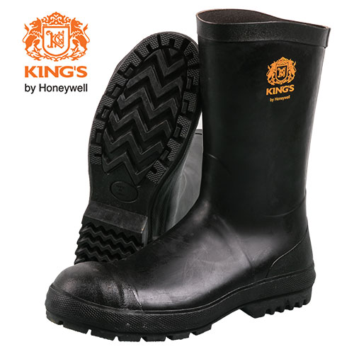 Kings Men's Black Neoprene Boots