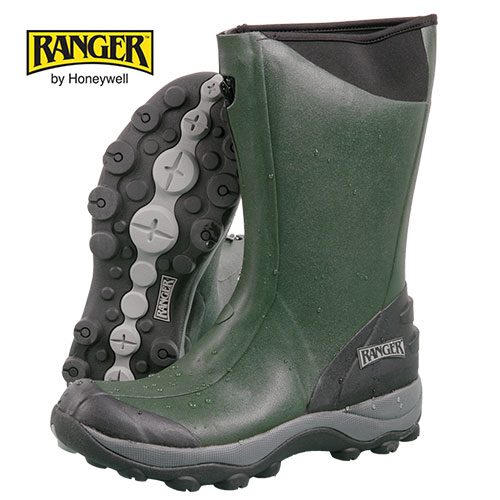 Ranger Men's Olive Green Pike Rubber Boots