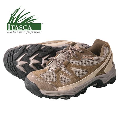 Itasca Men's Tan Striker Hiking Shoes