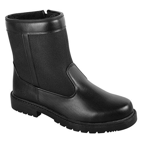 totes Men's Black Waterproof Stadium Boots