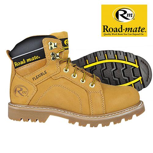 Roadmate Men's Honey Gravel Work Boots