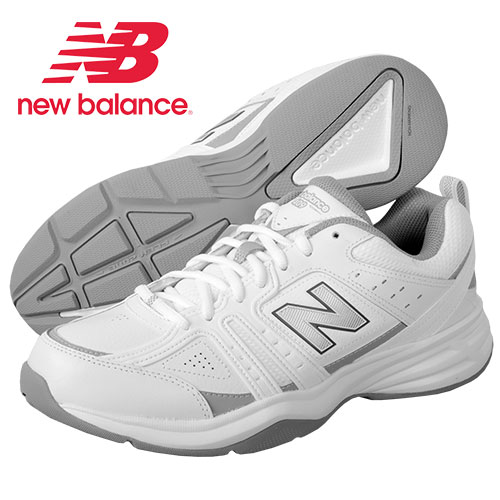 New Balance Men's MX409WT2 White Fitness Shoes