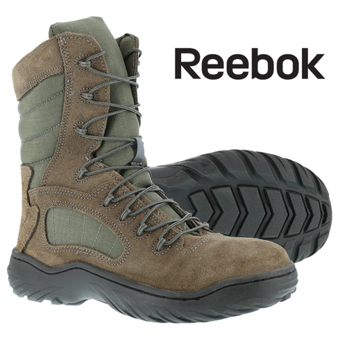 Reebok Duty Men's Sage Green 8 Inch Tactical Boots