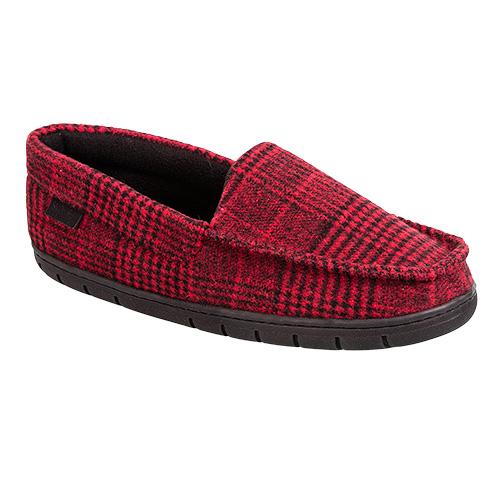 Staheekum Men's Plaid Slippers