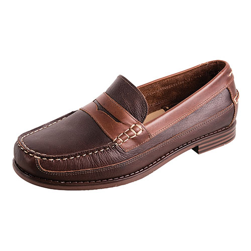 G.H. Bass & Co. Men's Brown Alan Penny Loafers