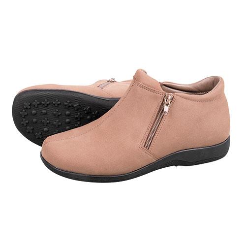 Walking Cradles Women's Taupe Zip Boot