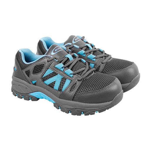 Knapp Women's Charcoal Athletic Work Shoes