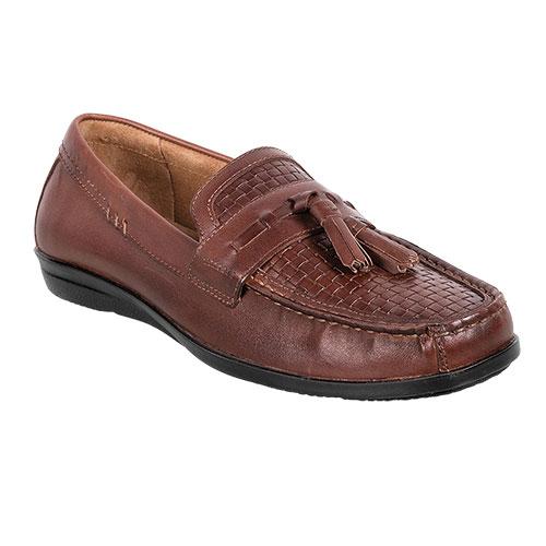 Dockers Men's Brown Mannheim Tassel Loafers