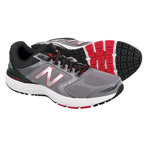 58d5f0bdd4b0f Heartland America: New Balance Men's Silver M560 Running Shoes