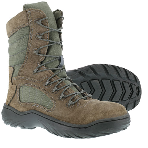 Heartland America  Reebok Duty Youth Sage Green Steel Toe Boots 0d8638205d16