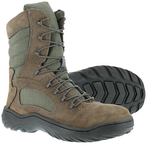 Reebok Duty Youth Sage Green Steel Toe Boots