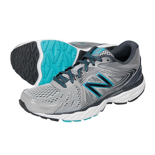 New Balance Women's Grey W680LG4 Running Shoes