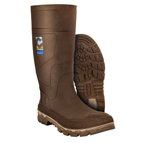 Chinook Kickaxe Men's Brown Rubber Boots