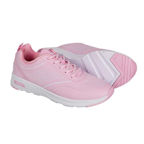 Fila Women's Pink Memroy Foam Chelsea Knit Shoes