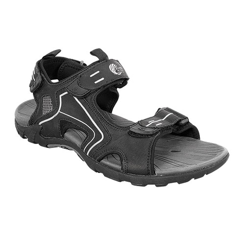 Island Surf Company Men's Black Mako Sandals