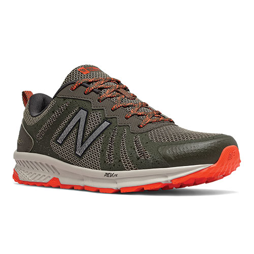 New Balance Men's Grey Fuelcore Trail Running Shoes