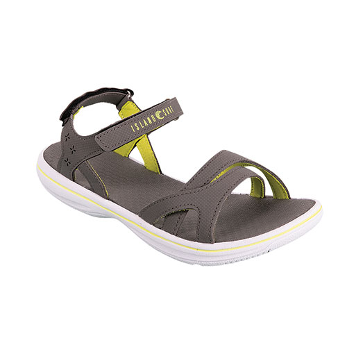 Island Surf Women's Grey RFT Sandals