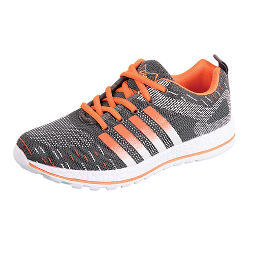 M-Air Men's Grey/Orange Ultra Athletic Shoes