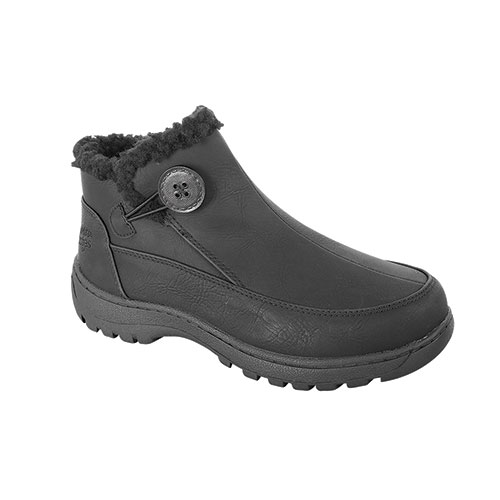 Totes Women's Andi Waterproof Ankle Boots - Black