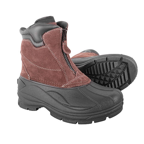 Totes Men's Front Zip Glacier Boots - Brown