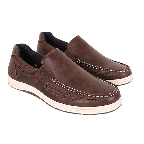 Island Surf Men's Brown Casual Boat Shoes