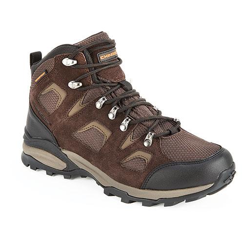 Chinook Men's Brown Santiam Waterproof Hikers