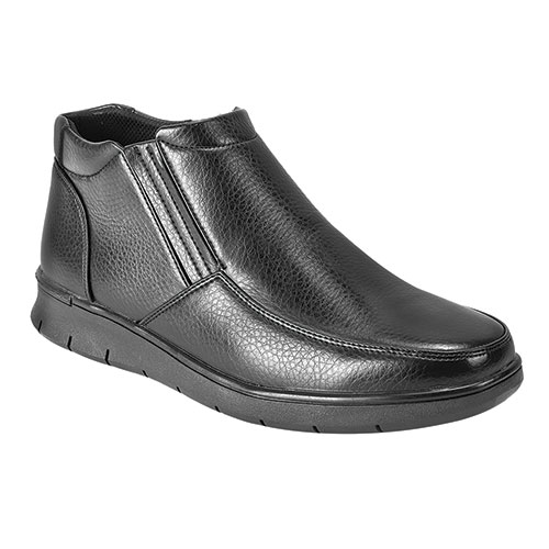 Maximus Men's Black Side Zip Boots