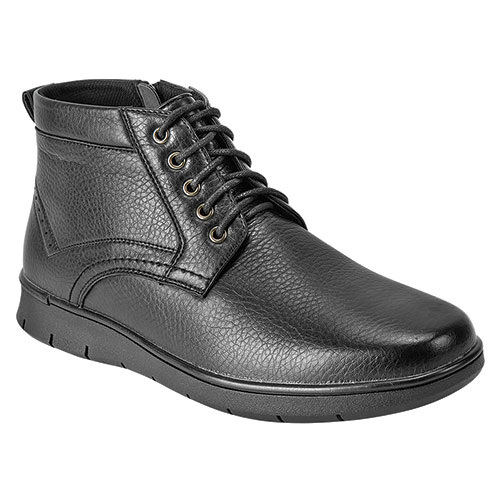 Maximus Men's Black Lace Side Zip Boots