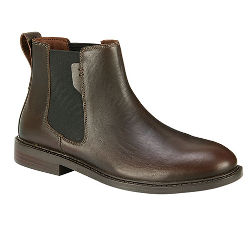 Dunham Graham Men's Brown Slip On Shoes