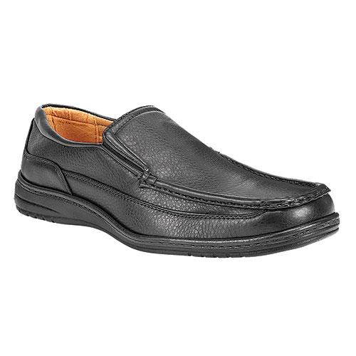 Maximus Men's Black Comfort Slip-Ons