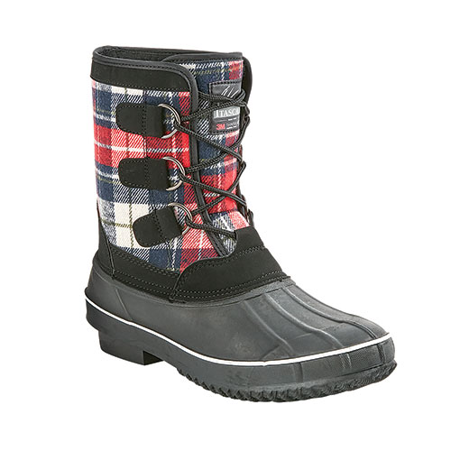 Itasca Women's Micah IV Plaid Winter Boots