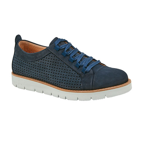 Samuel Hubbard Wanderer Women's Blue Nubuck Shoes