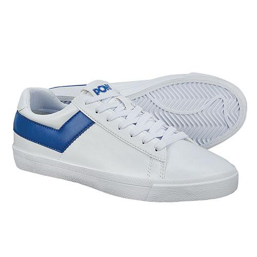 Pony Women's Classic White/Blue Sneaker