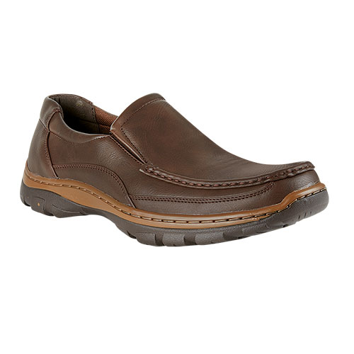 Maximus Men's Brown Slip-On Shoes